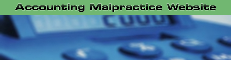 Accounting Malpractice Website